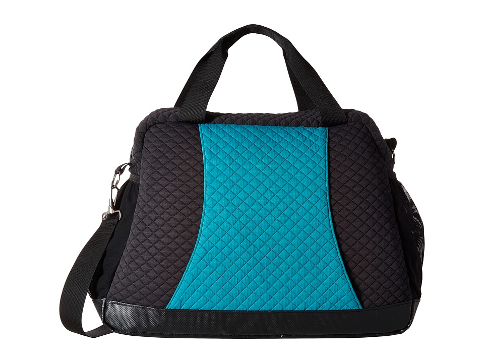 Stonewear Designs - Petra Tote (Black/Teal) Tote Handbags