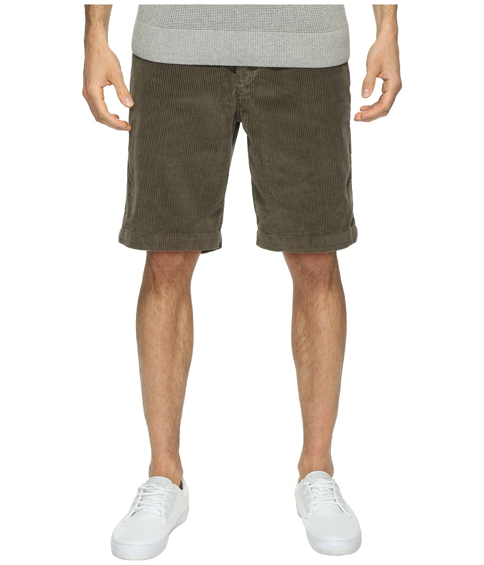Quiksilver Waterman Supertubes 6 Cotton Walkshorts (Major Brown) Men