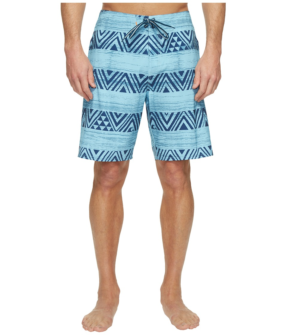 Quiksilver Waterman - Tribalstripe Boardshorts (Provencial) Men's Swimwear