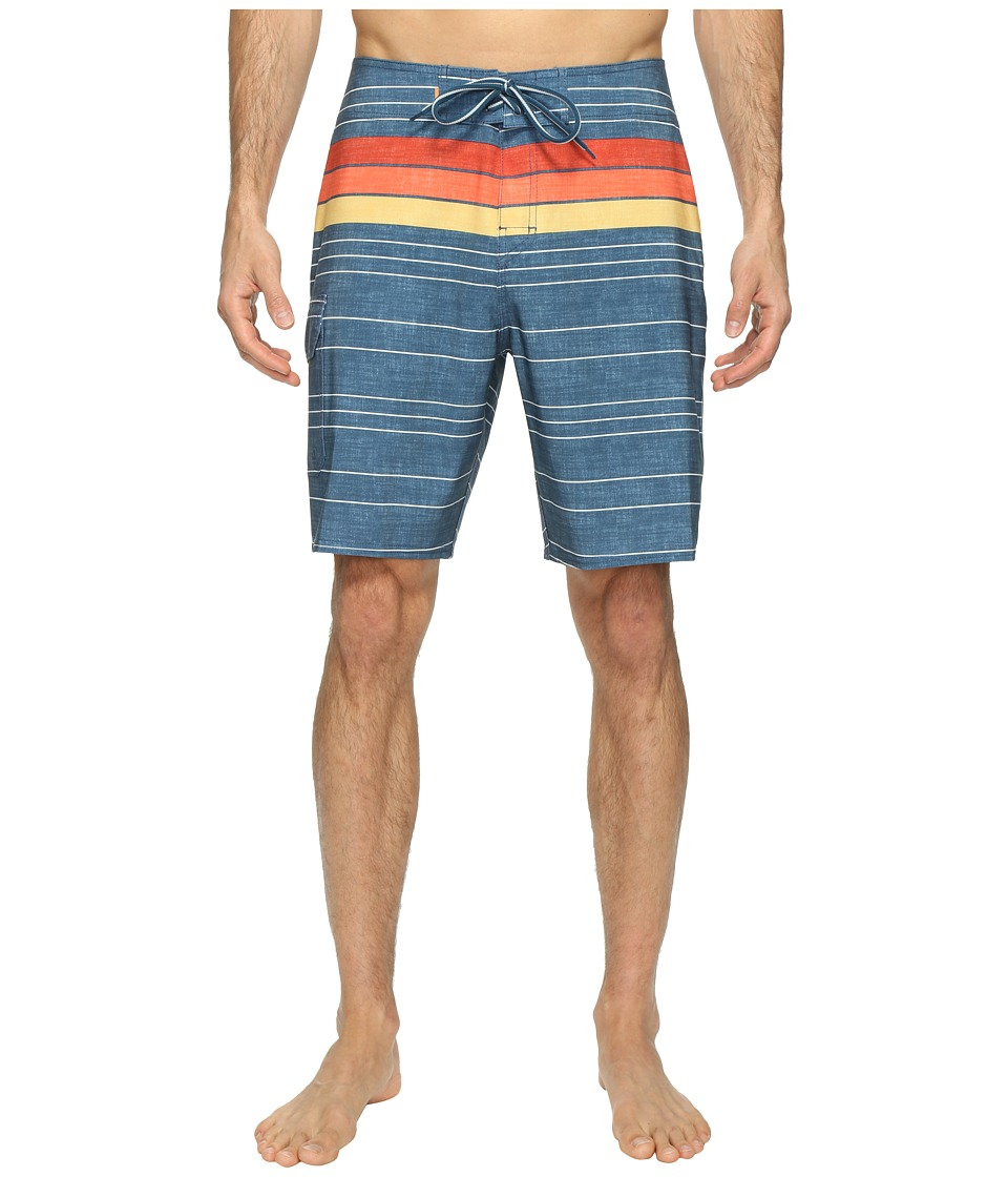 Quiksilver Waterman - Cedros Island Boardshorts (Major Blue) Men's Swimwear
