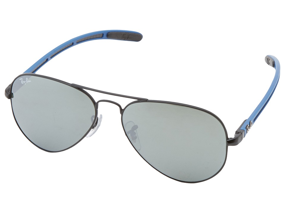 Ray-Ban - 0RB8307 55mm (Blue) Fashion Sunglasses