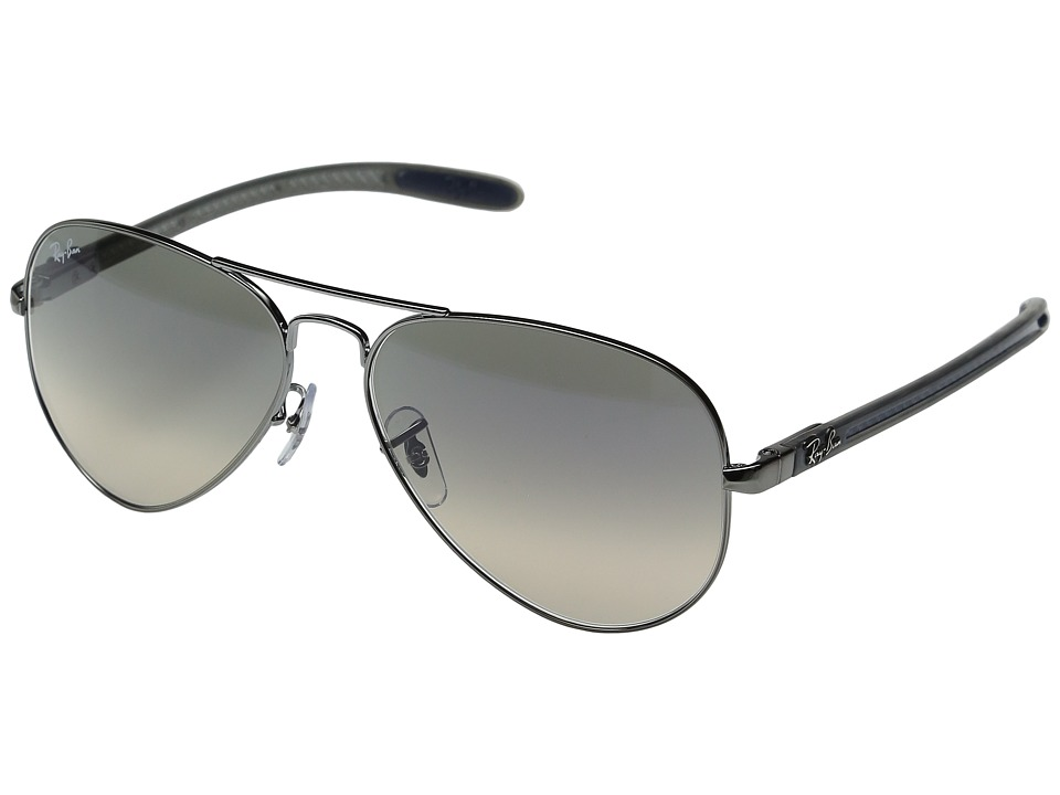 Ray-Ban - 0RB8307 58mm (Silver 1) Fashion Sunglasses