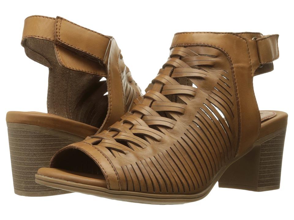 Rockport - Hattie Braided Vamp (Tan) Women's Shoes