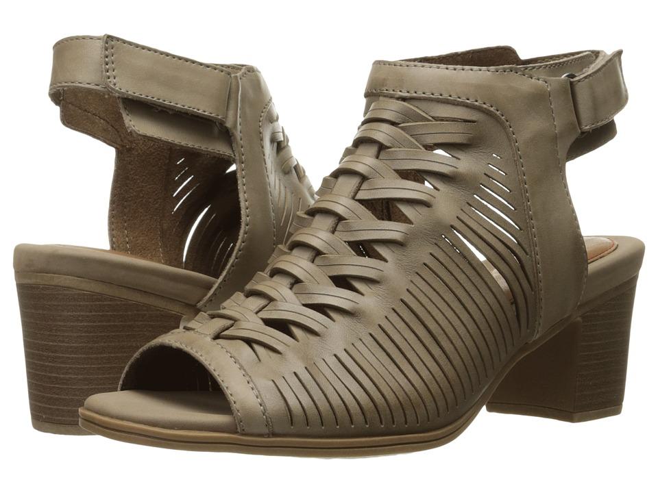 Rockport - Hattie Braided Vamp (Khaki) Women's Shoes