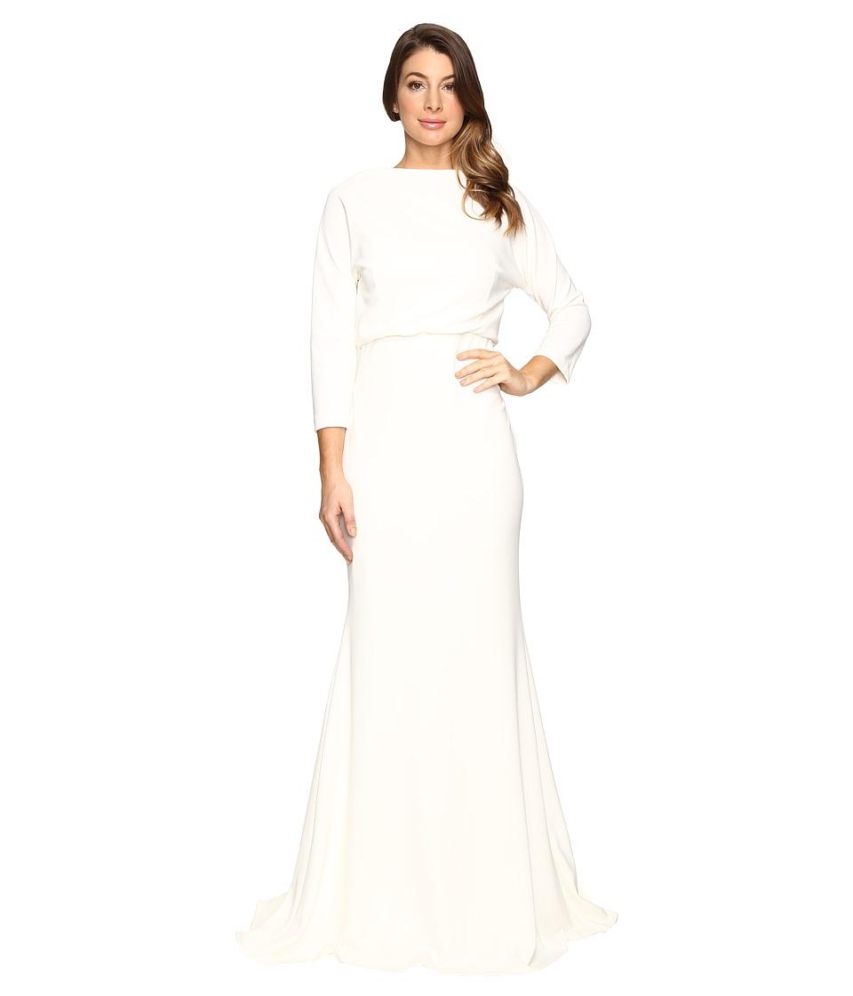 Badgley Mischka - It Dress Blouson Gown (Ivory) Women's Dress