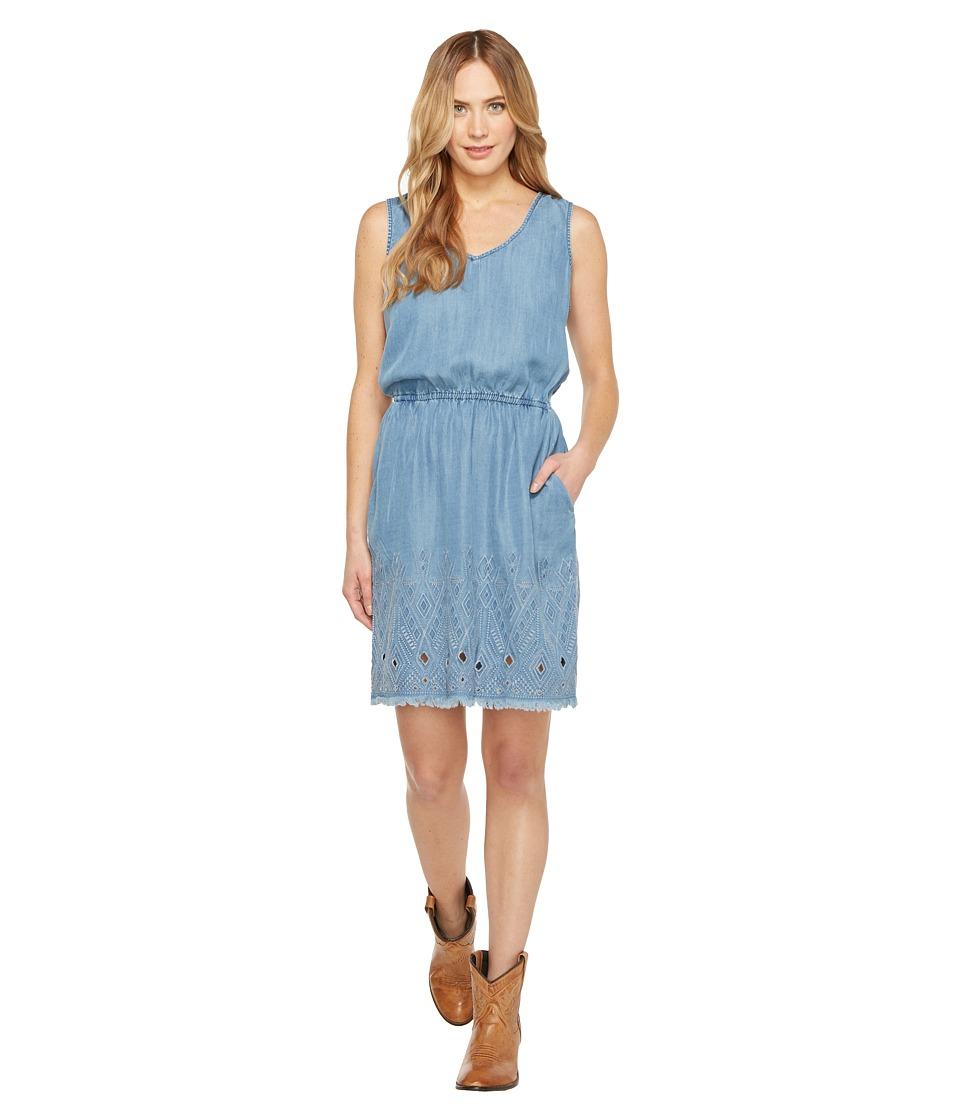 Stetson 0935 Lite Weight Tencel Denim Dress (Blue) Women