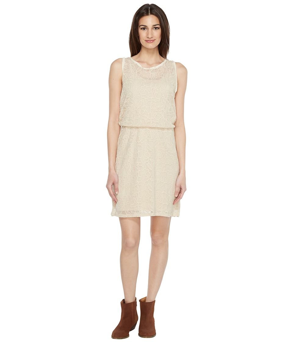 Stetson 0884 Floral Lace Tank Dress (White) Women