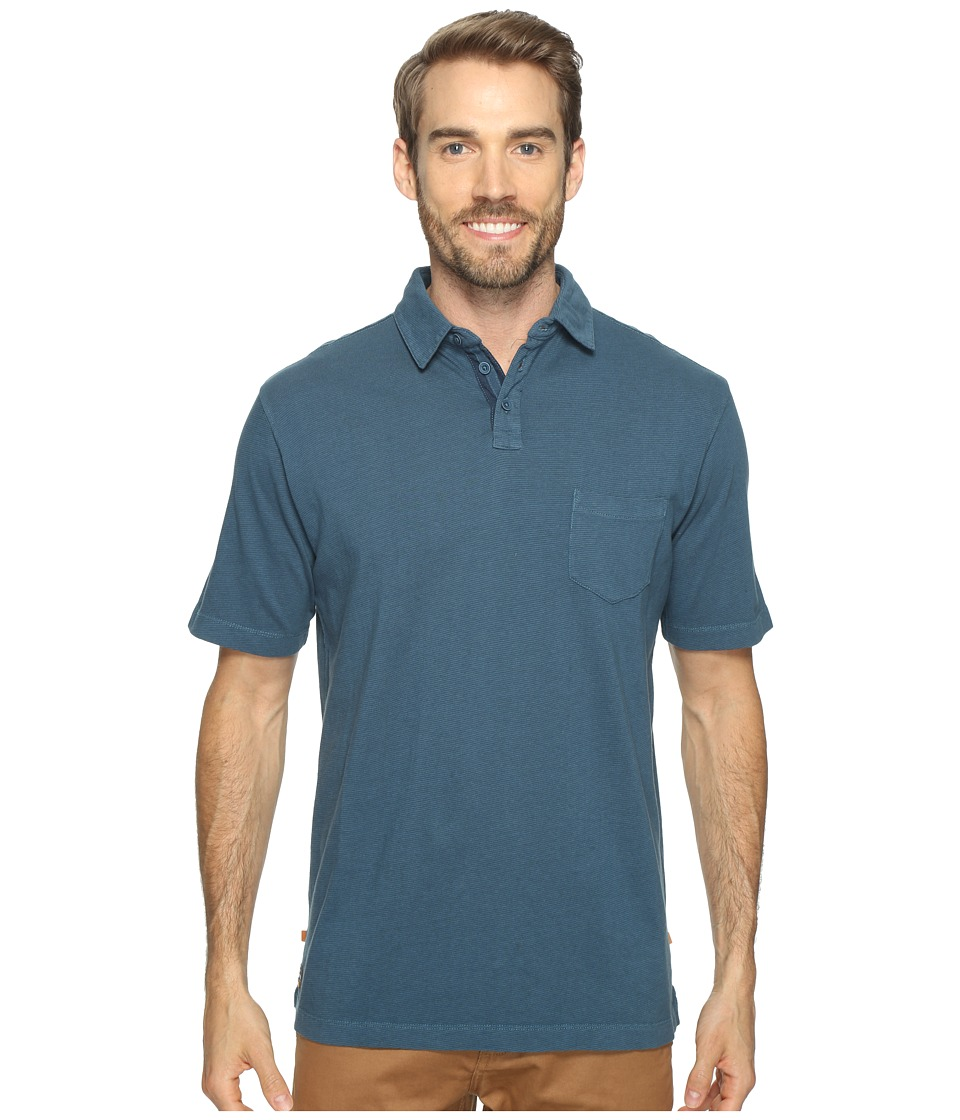 Quiksilver Waterman - Strolo 6 Short Sleeve Polo (Legion Blue) Men's Short Sleeve Pullover