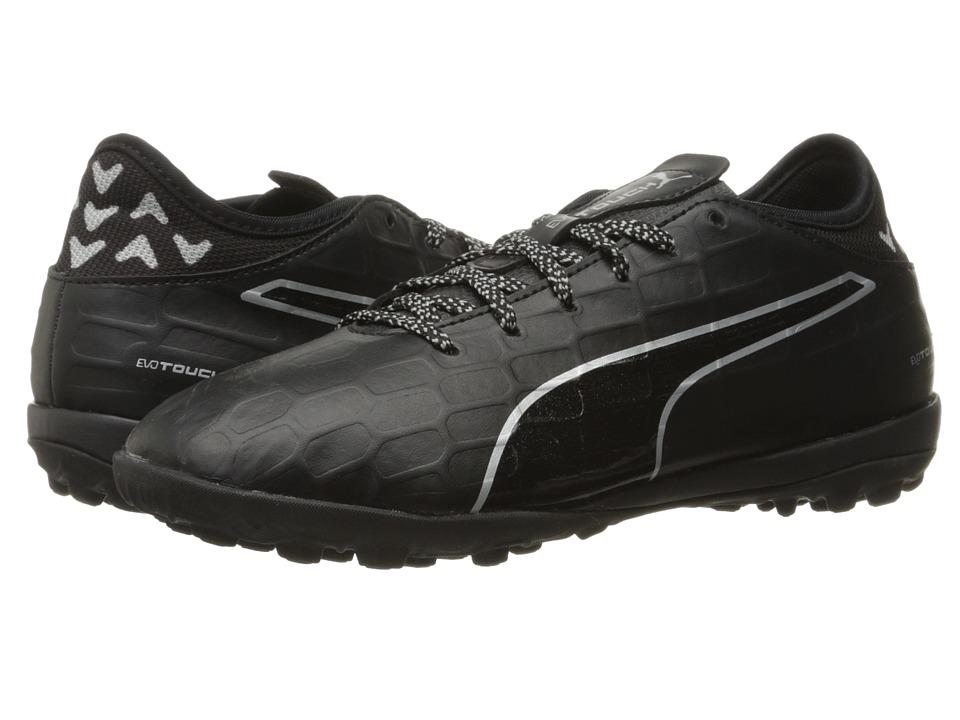 PUMA - evoTOUCH 3 TT (Puma Black/Puma Black/Puma Silver) Men's Shoes