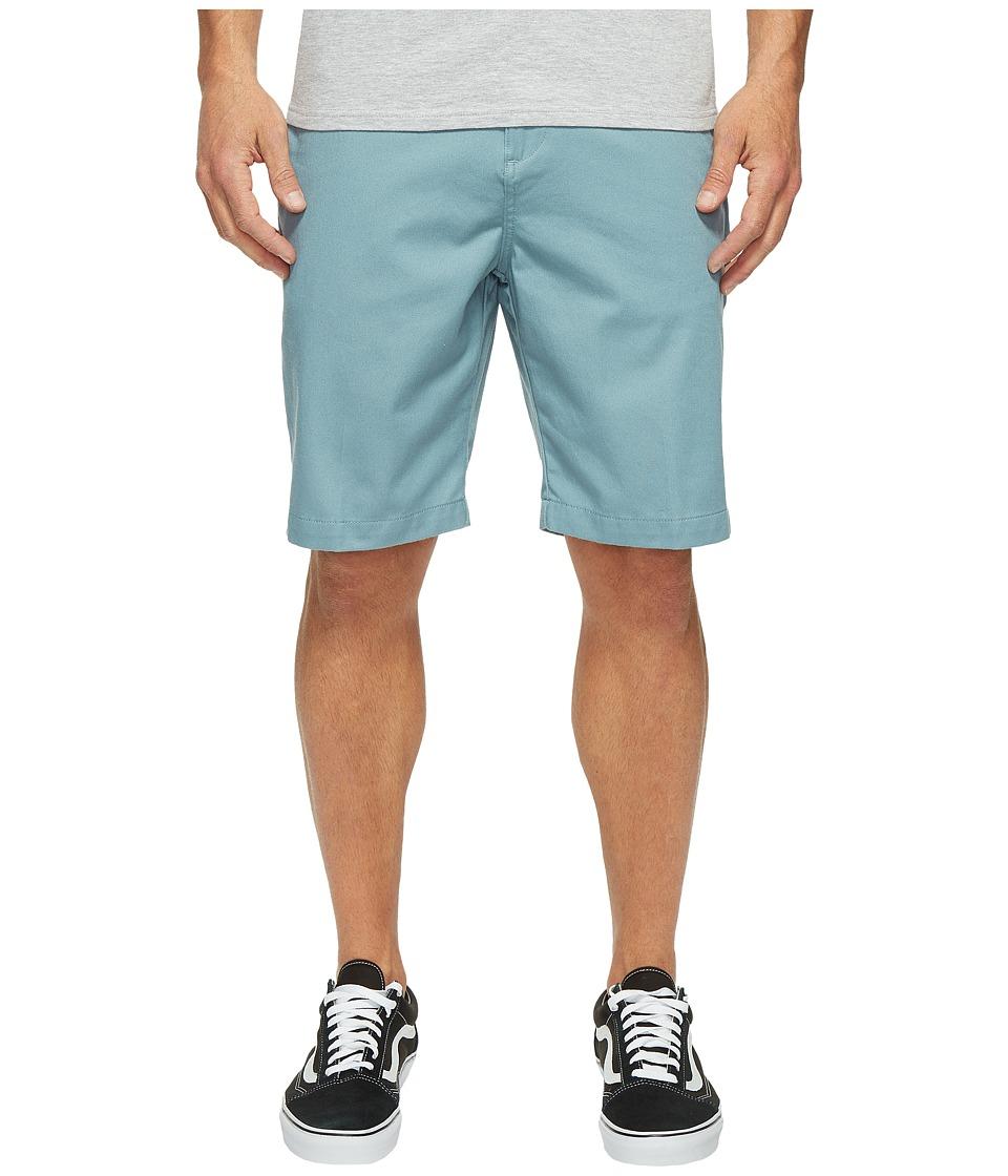 Billabong - Carter Stretch Chino Shorts (Light Steel) Men's Shorts