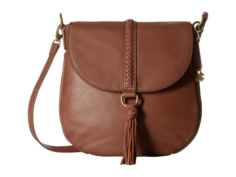 Lucky Brand - Ali Flap Crossbody (Brandy) Cross Body Handbags