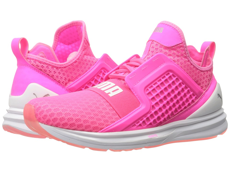 PUMA - Ignite Limitless (Knockout Pink) Women's Running Shoes