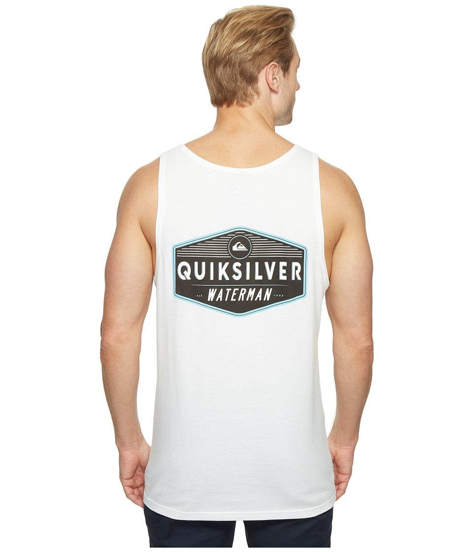 Quiksilver Waterman - Sacred Tank Top (White) Men's Sleeveless