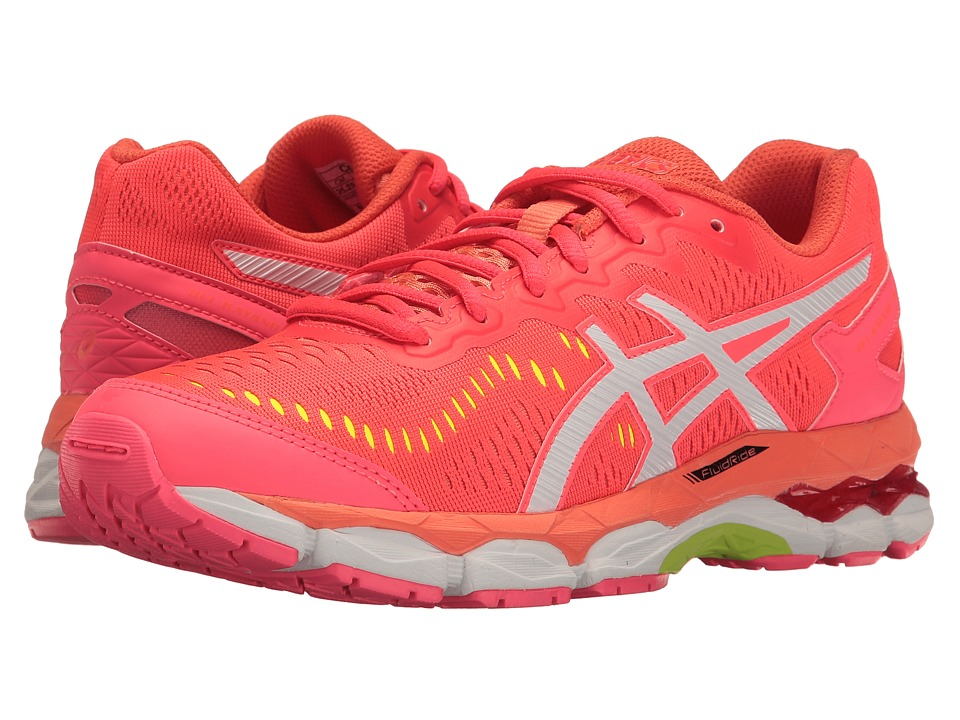 ASICS Kids - Gel-Kayano 23 GS (Little Kid/Big Kid) (Diva Pink/White/F Coral) Girls Shoes