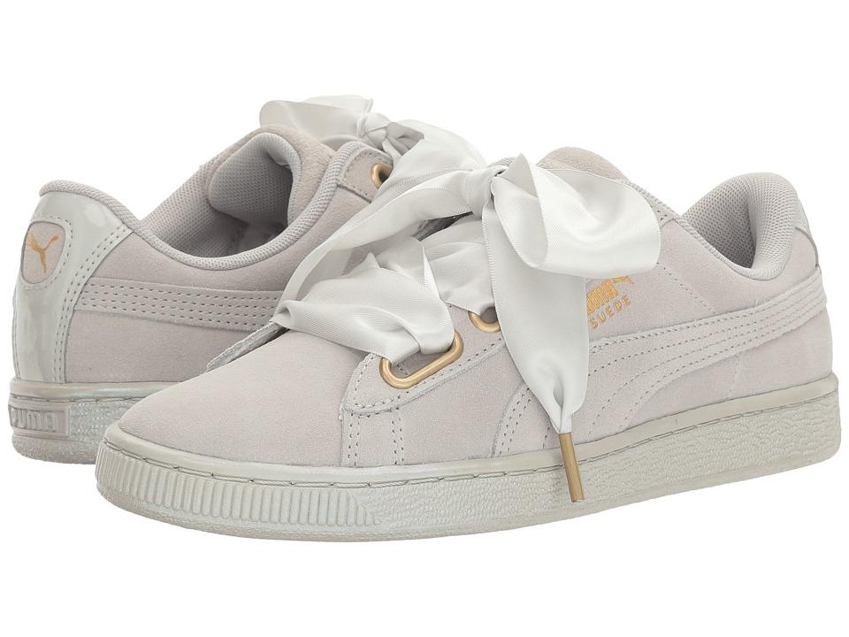 PUMA - Suede Heart Satin (Gray Violet/Gray Violet) Women's Shoes