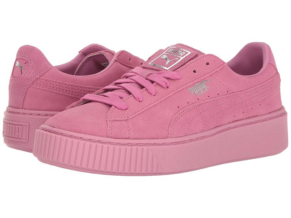 PUMA - Puma Platform Reset (Aruba Blue/Aruba Blue) Women's Shoes