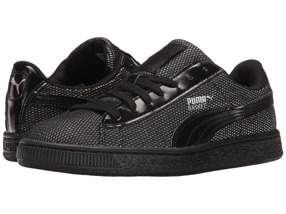 PUMA - Basket Reset (Puma Black/Puma Black) Women's Shoes