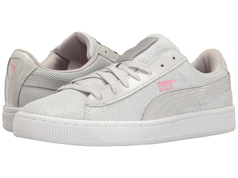 PUMA - Basket Reset (Gray Violet/Gray Violet) Women's Shoes