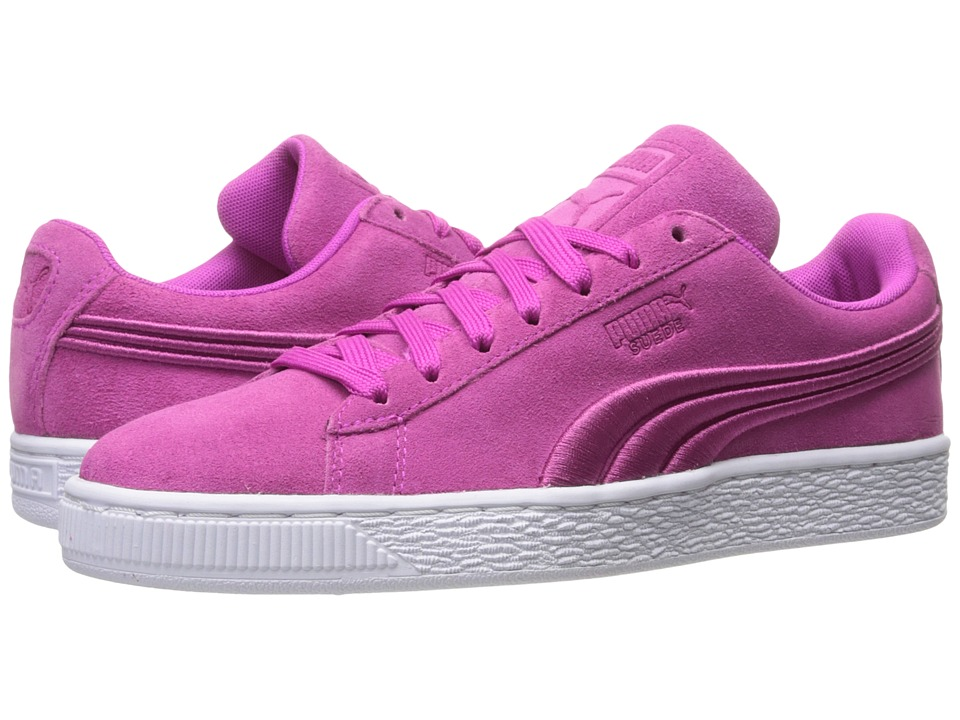 PUMA - Suede Classic Badge (Ultra Magenta) Men's Shoes