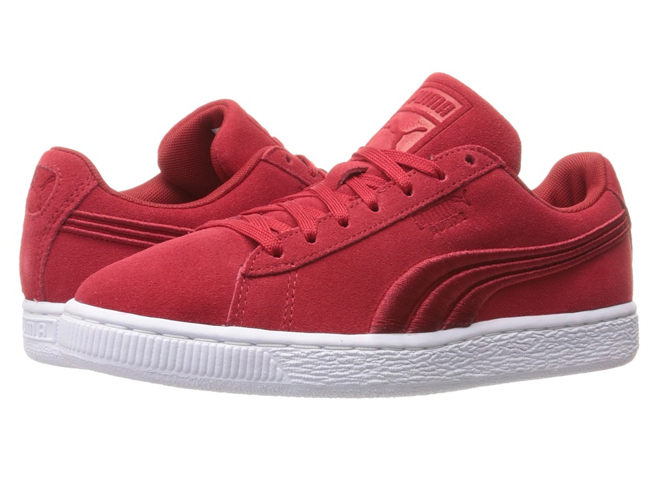 PUMA - Suede Classic Badge (Barbados Cherry) Men's Shoes