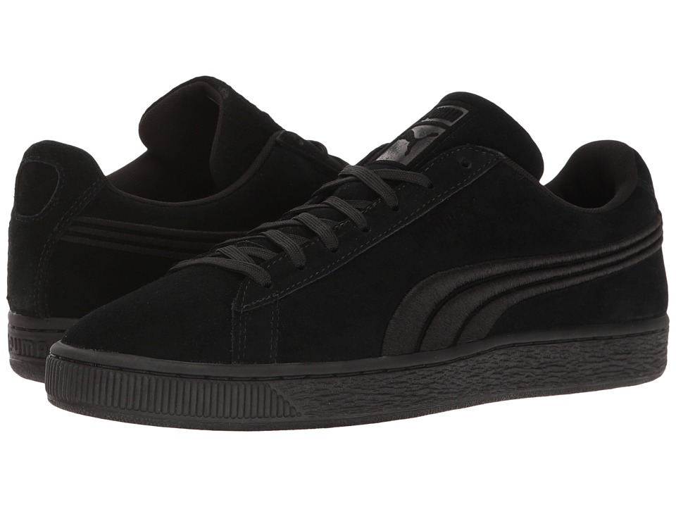 PUMA - Suede Classic Badge (PUMA Black) Men's Shoes