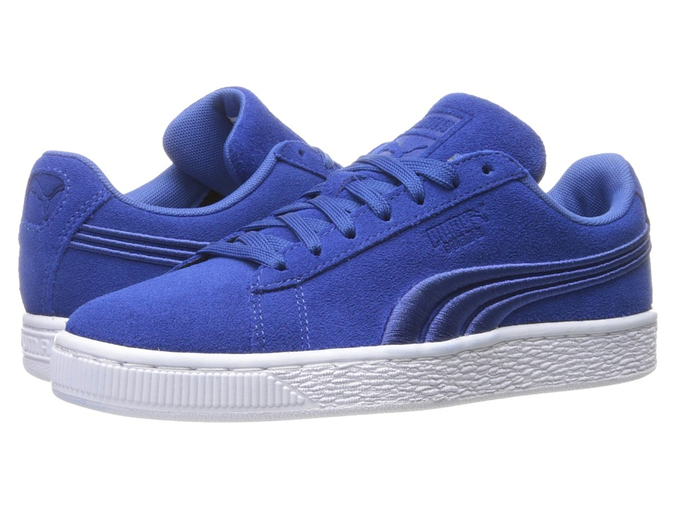 PUMA - Suede Classic Badge (True Blue) Men's Shoes