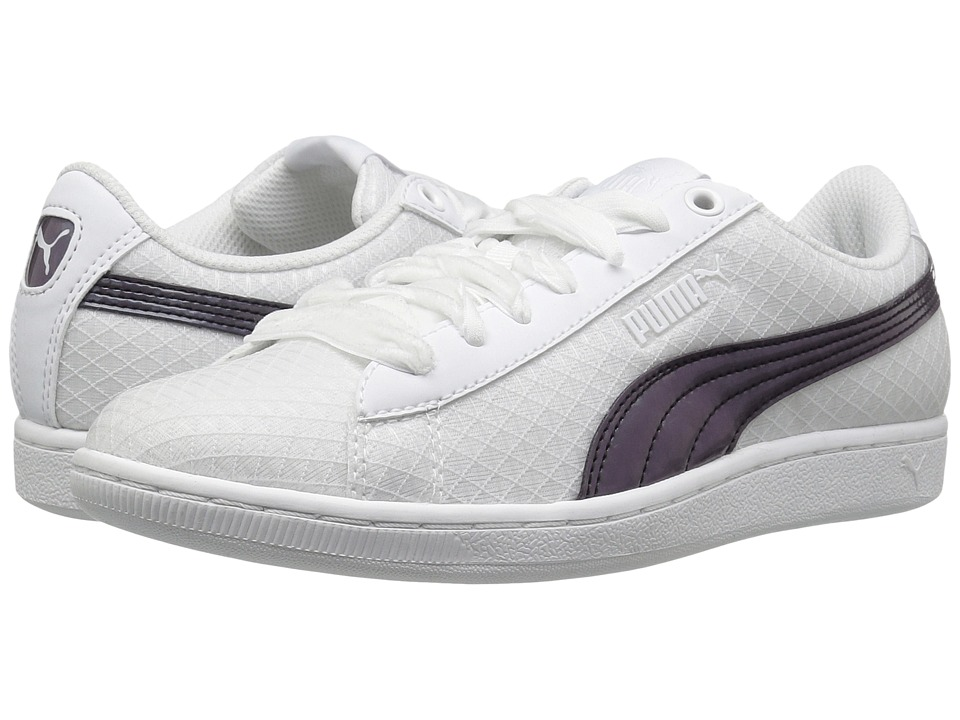 PUMA - Puma Vikky Swan (Puma White/Puma White) Women's Shoes