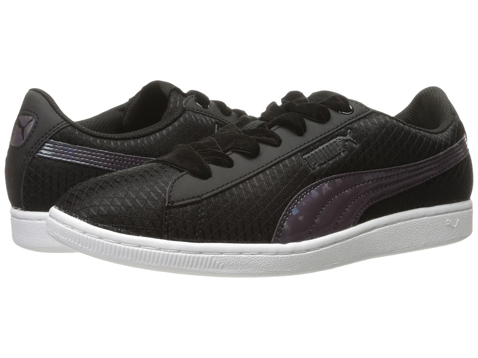 PUMA - Puma Vikky Swan (Puma Black/Puma Black) Women's Shoes