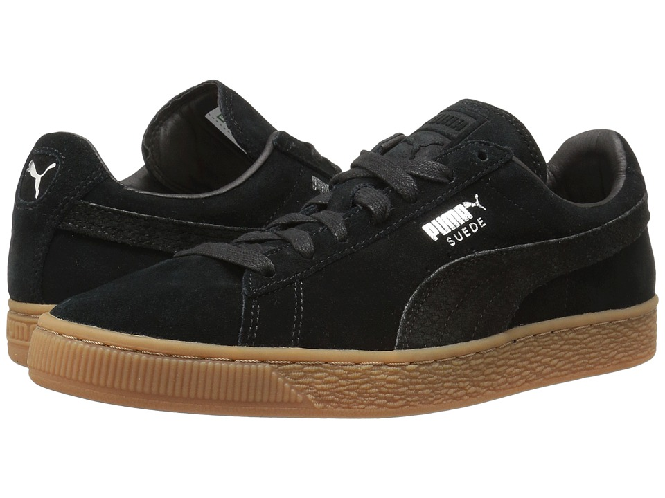 PUMA - Suede Classic Citi (PUMA Black) Men's Shoes