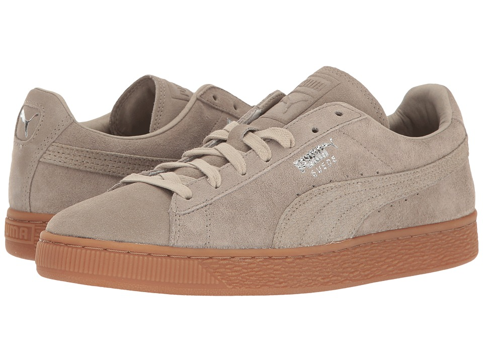 PUMA - Suede Classic Citi (Vintage Khaki) Men's Shoes