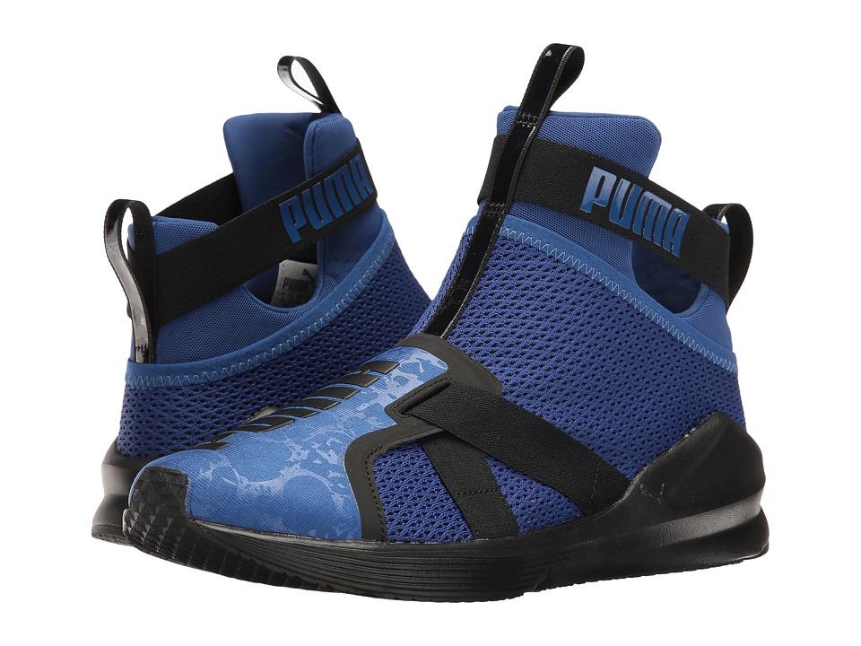 PUMA - Fierce Strap (True Blue/Puma Black) Women's Shoes