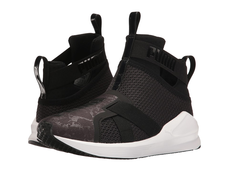PUMA - Fierce Strap (Puma Black/Puma White) Women's Shoes