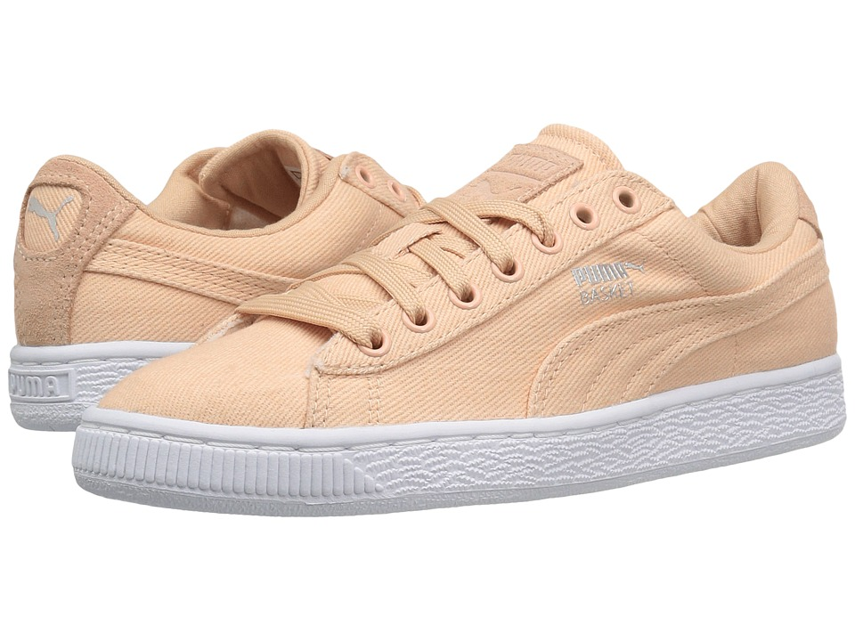 PUMA - Basket Classic CVS (Natural Vachetta) Men's Shoes