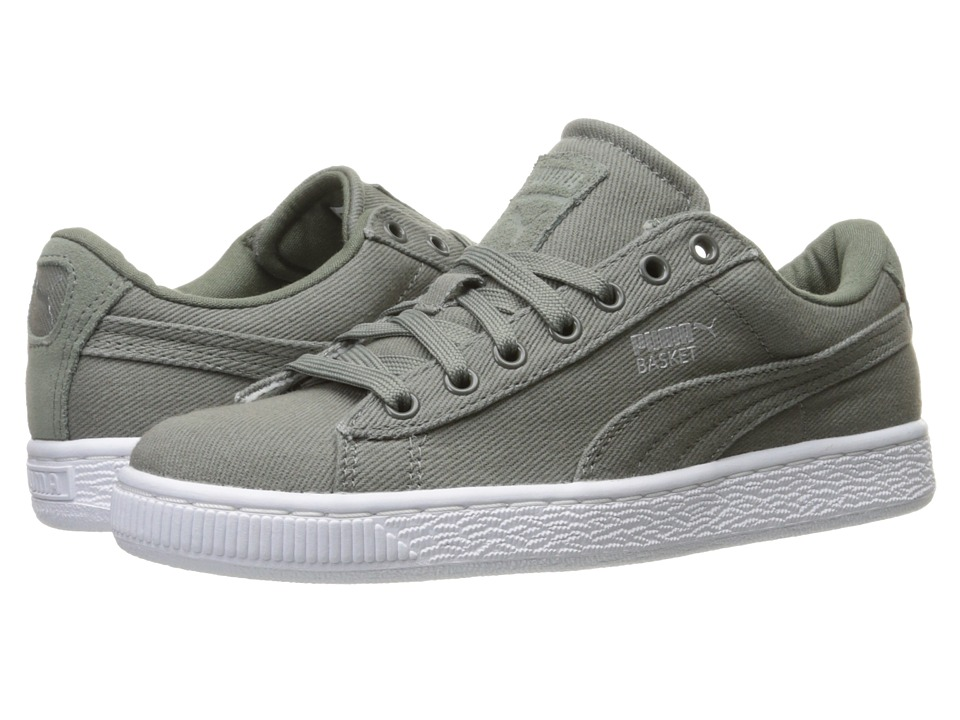 PUMA - Basket Classic CVS (Agave Green) Men's Shoes
