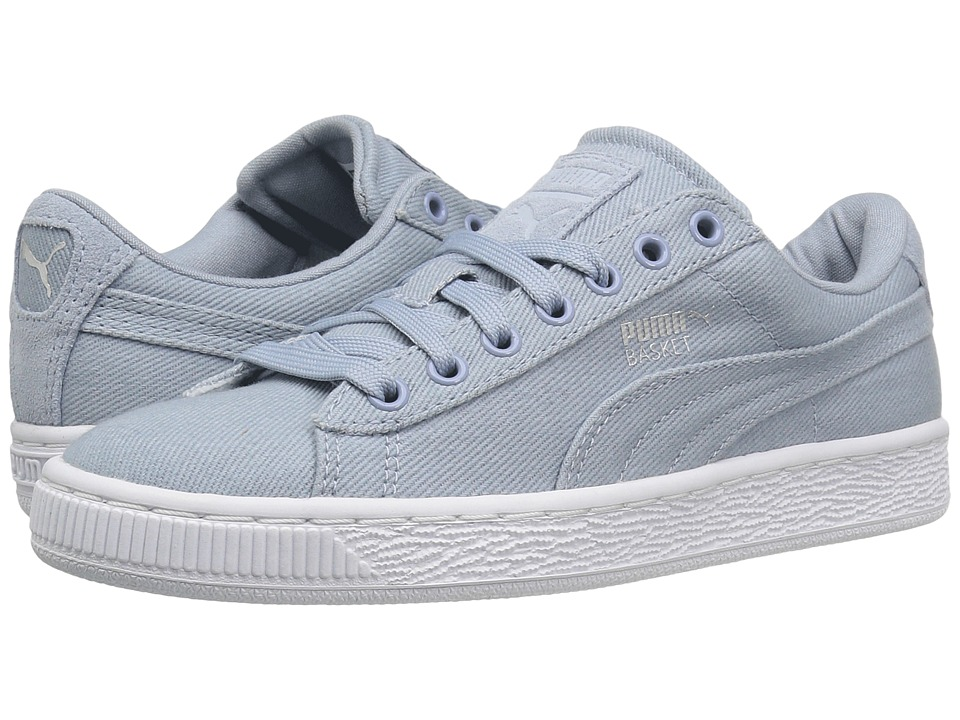 PUMA - Basket Classic CVS (Blue Fog) Men's Shoes