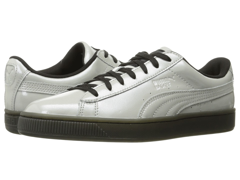 PUMA - Basket Classic Explosive (Gray Violet/Puma Black) Men's Shoes