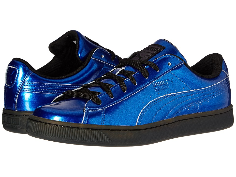 PUMA - Basket Classic Explosive (True Blue/Puma Black) Men's Shoes