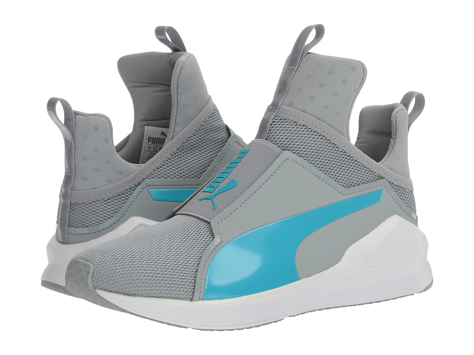 PUMA - Fierce Core (Quarry/Blue Atoll) Women's Shoes