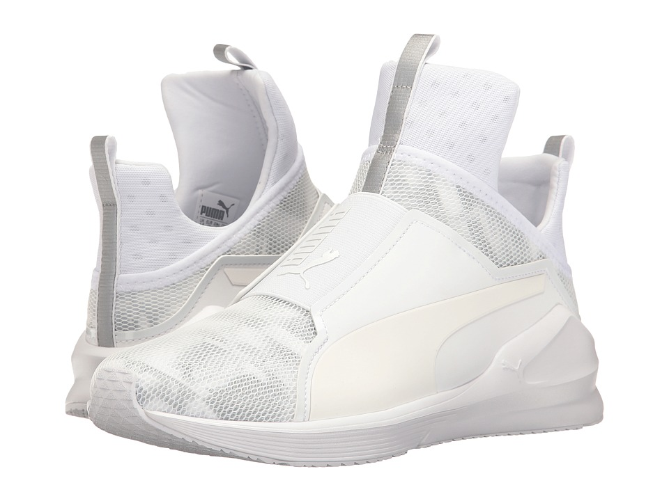 PUMA - Fierce Swan (Puma White/Puma White) Women's Shoes