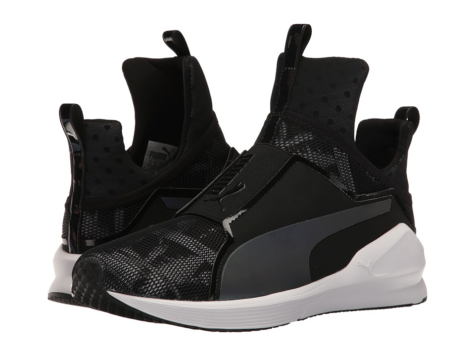 PUMA - Fierce Swan (Puma Black/Puma White) Women's Shoes