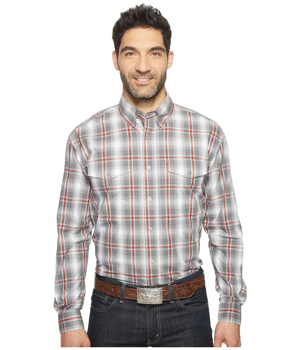 Roper - 0833 Shadow Plaid (Grey) Men's Clothing