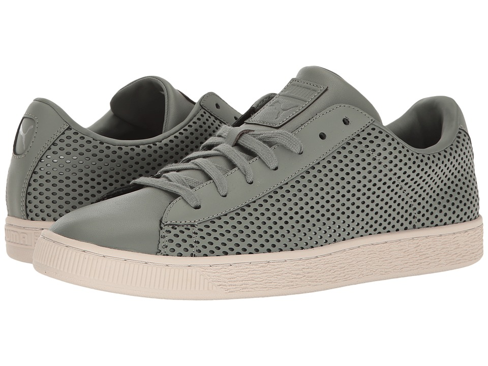PUMA - Basket Classic Summer Shade (Agave Green) Men's Shoes