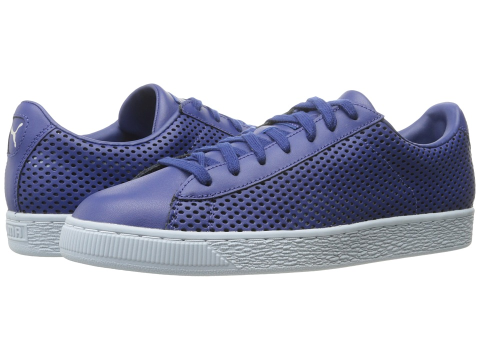 PUMA - Basket Classic Summer Shade (Twilight Blue) Men's Shoes