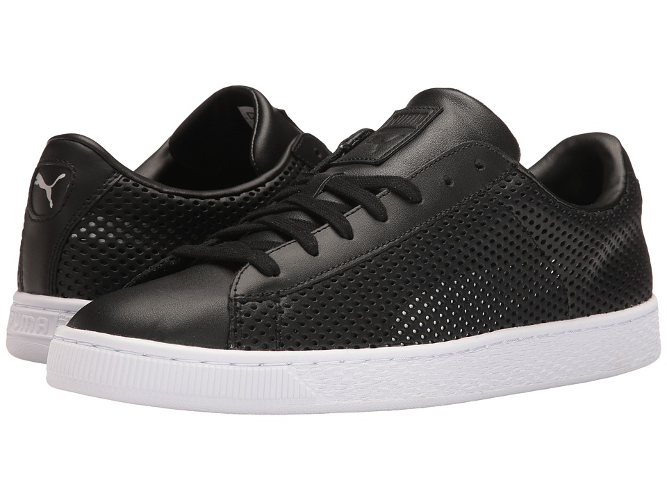PUMA - Basket Classic Summer Shade (PUMA Black) Men's Shoes