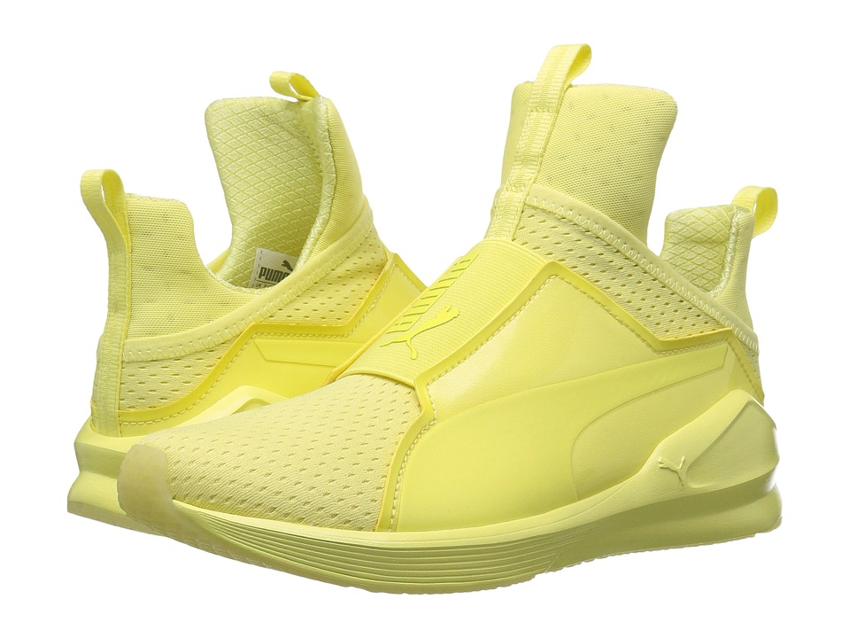 PUMA - Fierce Bright Mesh (Elfin Yellow) Women's Shoes