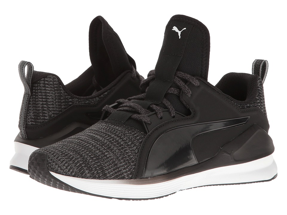 PUMA - Fierce Lace Knit (Puma Black/Puma White) Women's Shoes