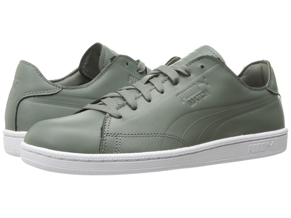 PUMA - Match Clean (Agave Green) Men's Shoes
