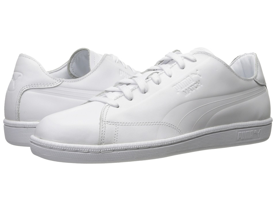 PUMA - Match Clean (PUMA White) Men's Shoes