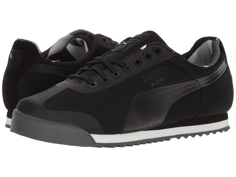 PUMA - Roma Basic Geometric Camo (PUMA Black) Men's Shoes