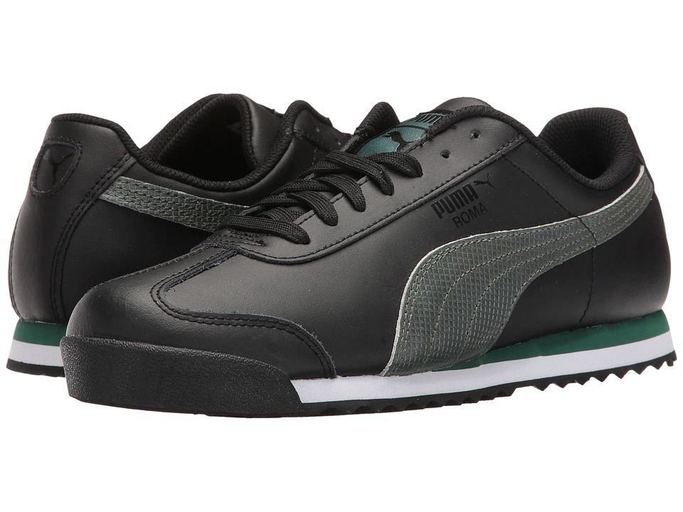 PUMA - Roma Basic Holo (PUMA Black) Men's Shoes